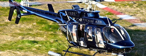 Gotham Air East Hampton Quiet Helicopter