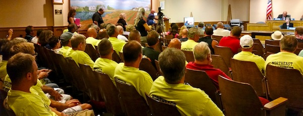 Northeast Region Council of Carpenters at Riverhead Town Hall