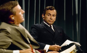 Gore Vidal and William F. Buckley, Jr