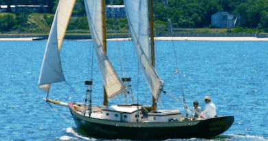 Annie under Sail Arden Scott