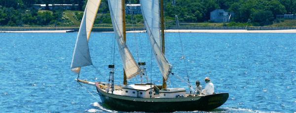 Annie under Sail Arden Scott