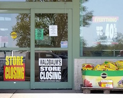 The Riverhead Waldbaums is closing its doors.