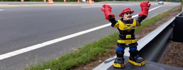 Fireman Running