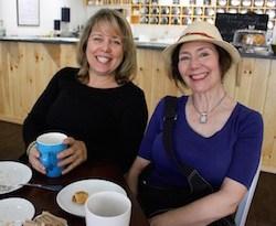 Carolyn Poncato and Katherine Liepe-Levinson