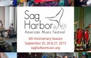 Sag Harbor American Music Festival
