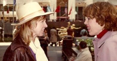 Lorraine Dusky and her daughter, Jane, at Rockafeller Center