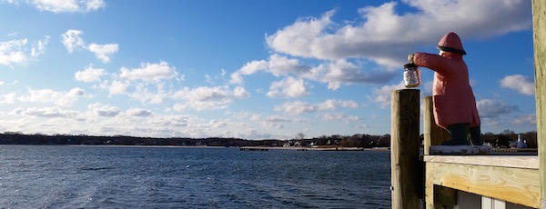 Winter Weather Watch, Founders Landing, Southold