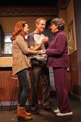 Mary McGloin, John Carlin and Diana Marbury   Tom Kochie photo.