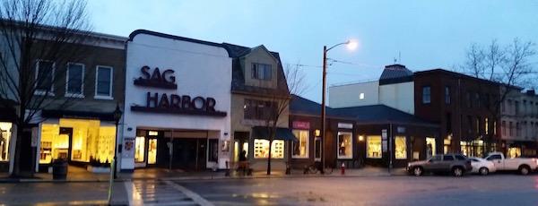 Sag Harbor Rain