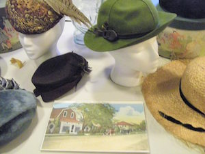 The Hampton Bays Historical Society has a large collection of Lyzon Hats.