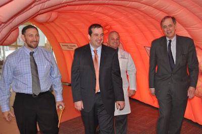 Dr. Brett Ruffo, Dr. Mark Coronel, Dr. George Ruggiero, Dr. James Tomarken