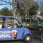 Gotcha Rides began its service providing free rides on university campuses.