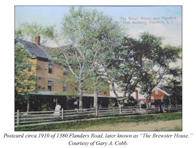 A 1910 postcard of the boarding house