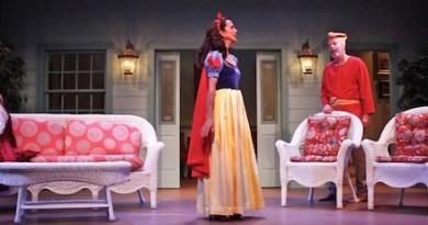 "Eduardo Ramos, Rosemary Cline, Andrew Botsford and Jane Lowe in Hampton Theatre Company's current production of ""Vanya and Sonia and Masha and Spike | Tom Kochie photo"