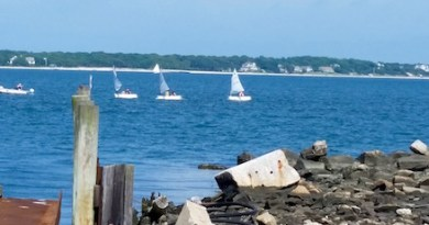Sailing lessons, Cutchogue Harbor