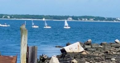Sailing lessons, Cutchogue Harbor