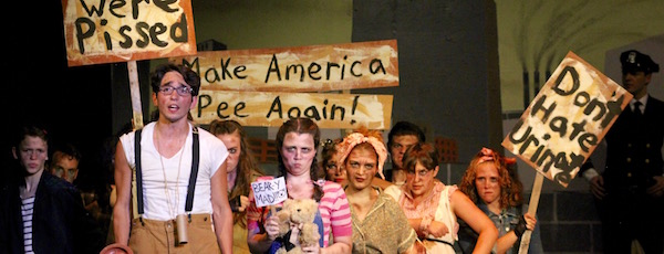 """At NFCT's """"Urinetown: The Musical"""""""