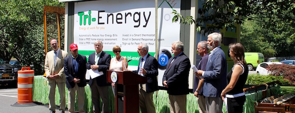 Announcing the launch of Tri-Energy at Town Hall Thursday afternoon.