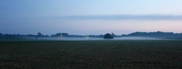 Morning fog, Cutchogue