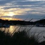Sunset in Deep Hole Creek, Mattituck