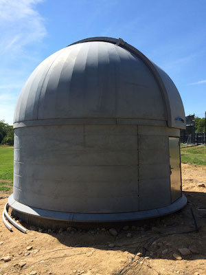The Montauk Observatory's dome at The Ross School.