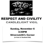 Respect & Civility Candlelight Vigil