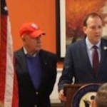 At Tuesday's press conference   photo courtesy office of Congressman Lee Zeldin