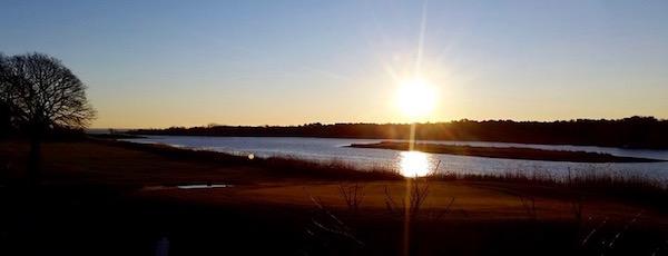 Indian Island Sunrise, Saturday.