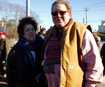 Angela DeVito and John Krakowski of Riverhead.