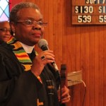 Reverend Natalie Wimberly, Pastor of Greenport's Clinton AME Zion Church