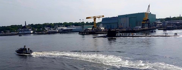 At the Naval Submarine Base in Grotton, Conn in 2015.   file photo