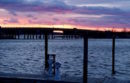 Sag Harbor, winter sunset.