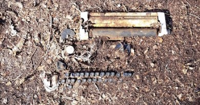 20th Century technology unearthed in Flanders...