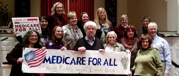 At the North Forkers For the Common Good health care forum March 23.