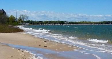 Sag Harbor from Havens Beach