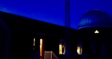 Evening at the Observatory, Southold.
