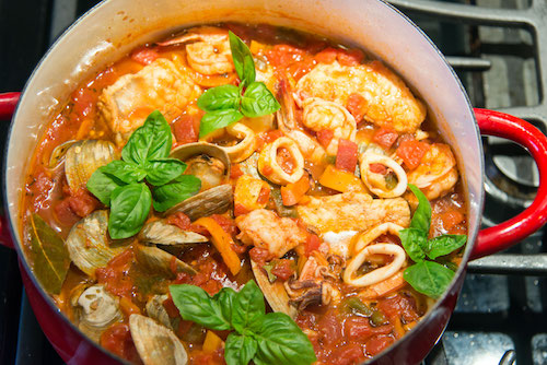 Monkfish Cioppino | Jim Slezak photo