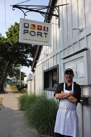 Port chef Mike Fortino