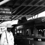 Jim Crow-era signage in Durham, NC   Georgetown University photo