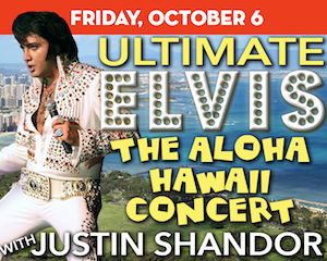 Ultimate Elvis: The Aloha Hawaii Concert at The Suffolk Theater