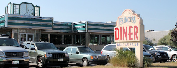 The Princess Diner in Southampton.