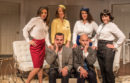 """The cast of Center Stage's new production of """"Boeing Boeing""""  