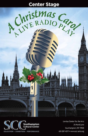 A Christmas Carol Poster.A Christmas Carol A Live Radio Play Opens At Center Stage