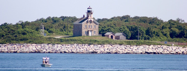 The Plum Island lighthouse