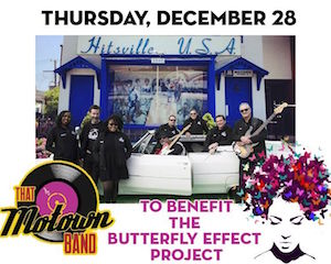 The Butterfly Effect Project Benefit: That Motown Band at The Suffolk Theater
