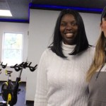 Butterfly Effect founder Tijuana Fulford and JABS owner Jill Schroeder in their new Riverhead space.