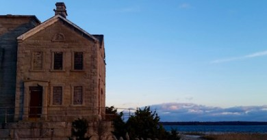 Monday at the Cedar Island Light.