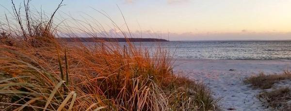 Sunset, Robins Island