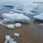 This week's thaw, Peconic Bay
