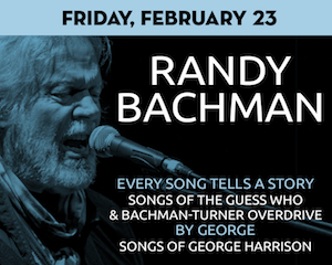 Randy Bachman: Songs of The Guess Who & George Harrison at The Suffolk Theater